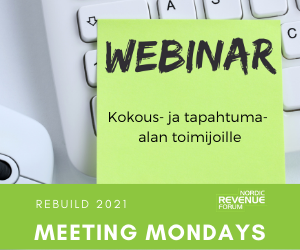 REBUILD 2021 webinaarit syksyllä 2020 -  Nordic Revenue Forum verkossa