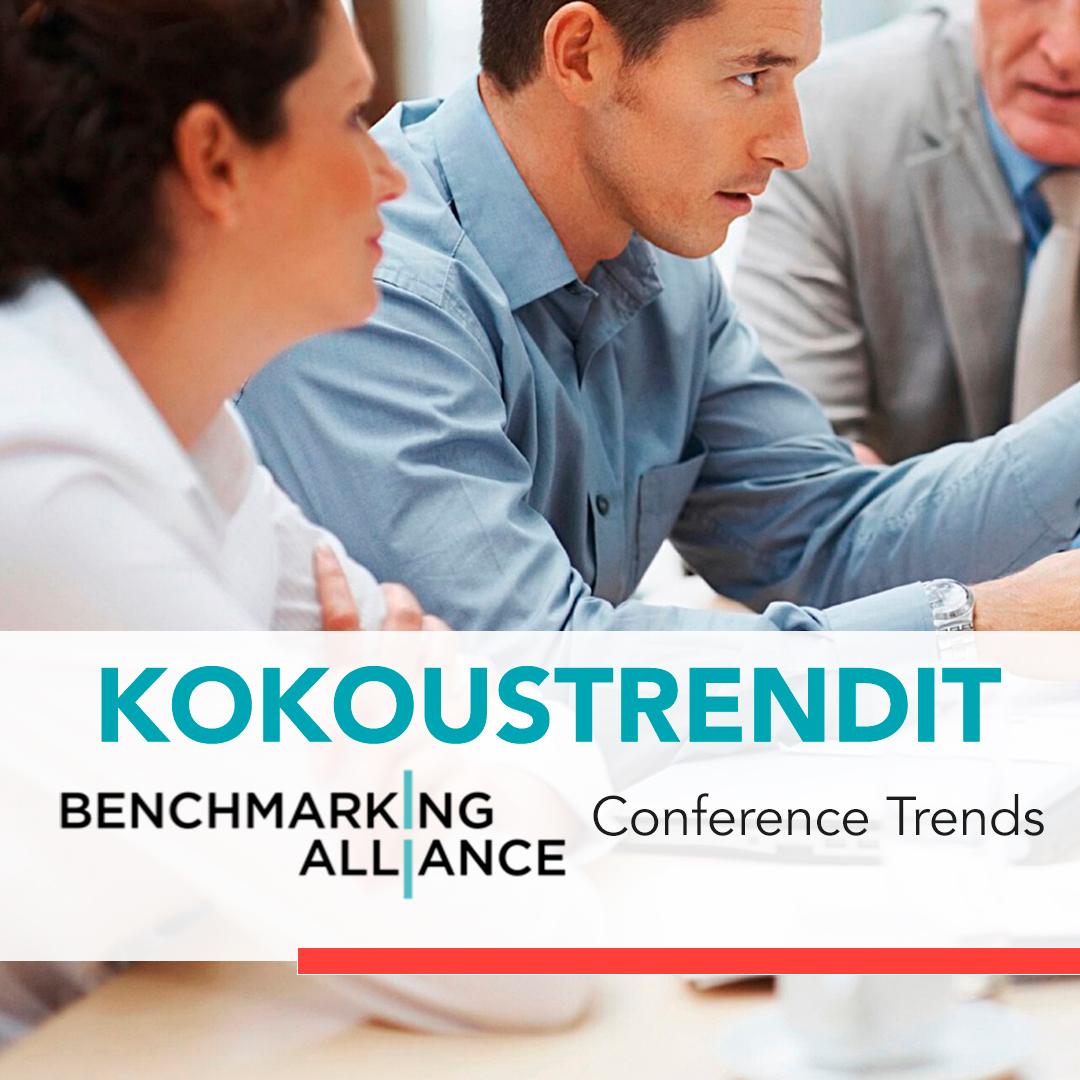 kokoustilastot Suomessa benchmarking alliance finland