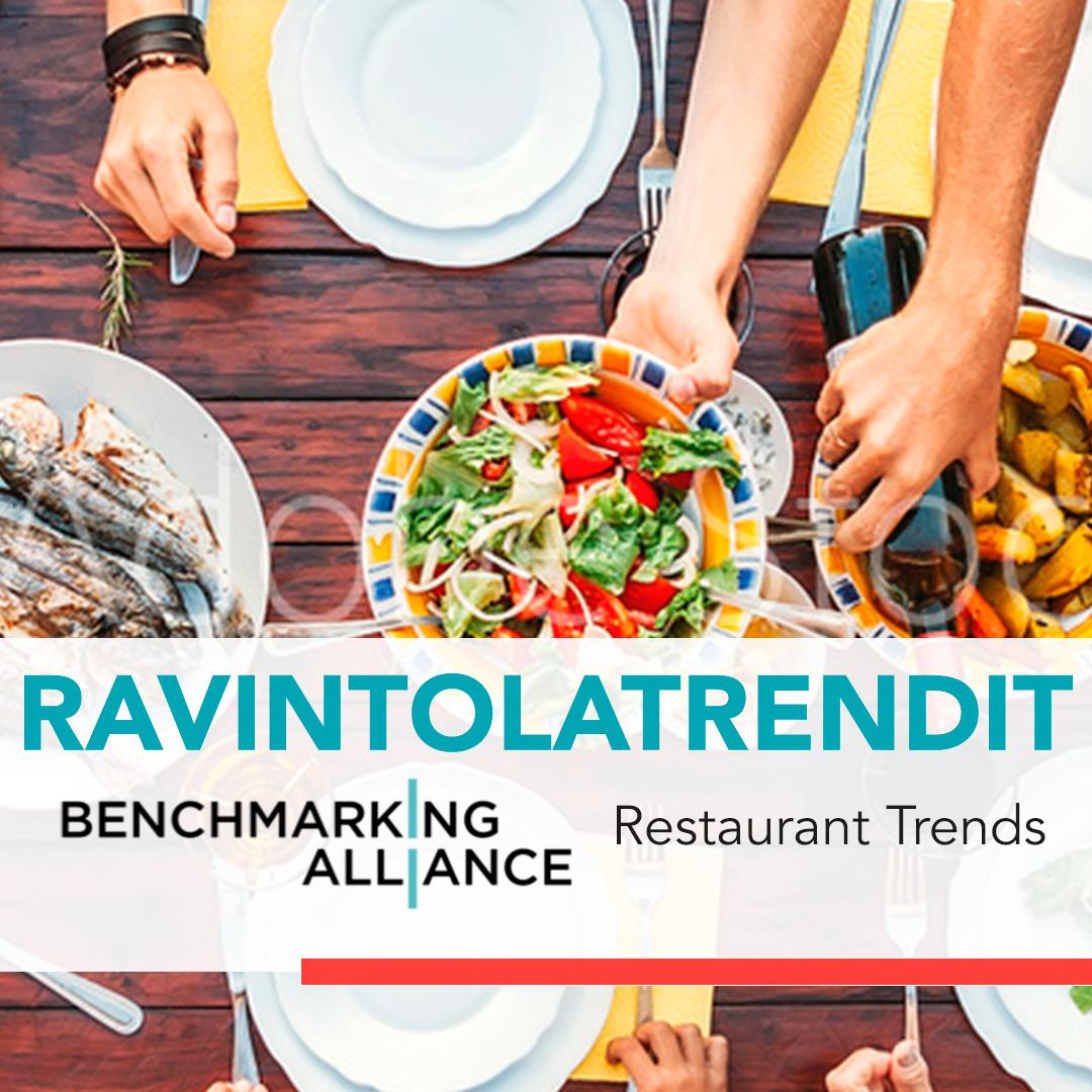 ravintolatilastot Suomessa benchmarking alliance finland